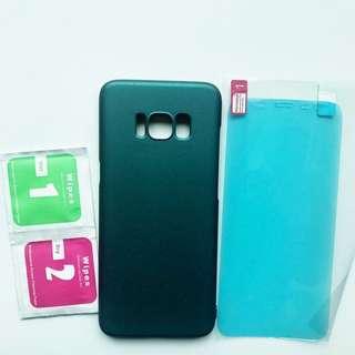 ✅全新 Samsung S8 磨砂綠手機殼