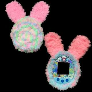 Tamagotchi Multicolor Cover with Bunny Ears