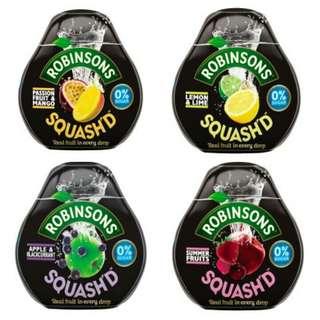 RobinsonSquash'd 無糖輕便裝超濃縮菓汁