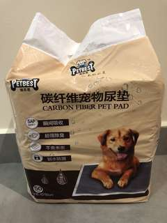 Super absorbent Carbon Fiber Pet Pad Wee wee pad