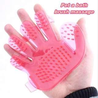 Pet Bath Massage Glove Brush