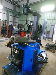 (興倫蕭先生)FORT拆胎機(最大可拆到22吋) - 中古拆胎機