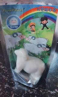可爱绵羊皂