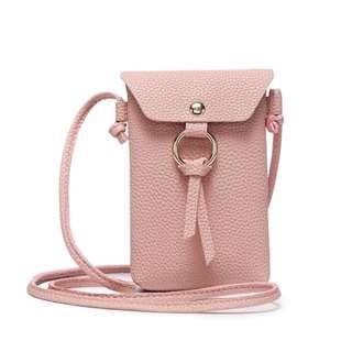 Shoulder Bag Phone Wallet With Tassel For Smartphone