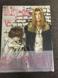 Salty dog kazuya minekura lllustations book
