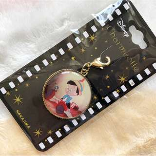 日本版 - Disney Pinocchio Charm 迪士尼經典卡通人物木偶奇遇記 吊飾扣