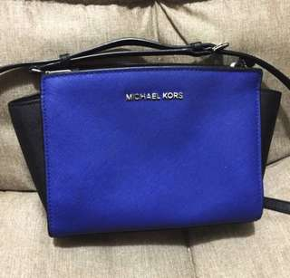 真品 AUTHENTIC MICHAEL MICHAEL KORS Selma Crossbody Bag 斜揹袋
