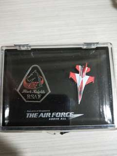 Air Force Black Knights Collectible Pins