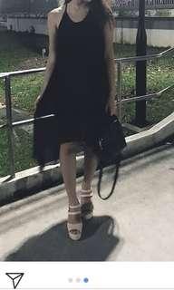 Black chic dress