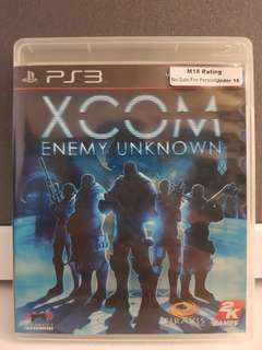 PS3 Game - XCOM Energy Unknown