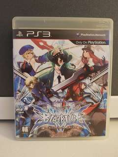 PS3 Game - Blazblue Continuum Shift