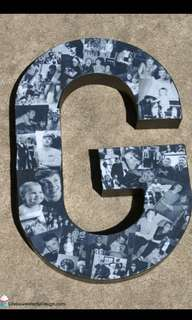 Personalised Photo Letters