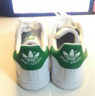 Preloved Authentic Adidas Stan Smith (Green Tab)