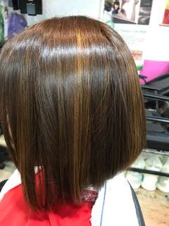 Rebond+Treatment +Cut+Wash+Blow=$50+Hp:91059010