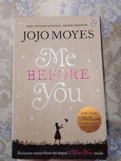Me Before You English Novel