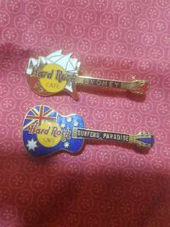 Australia Hard Rock Cafe Pins