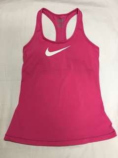 NIKE Pink Dri Fit Top
