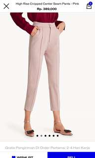 Pomelo pink trousers