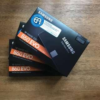 [ BNIB ] Samsung EVO 860 2.5inch SATA SSD 500GB with 5 years local Warranty