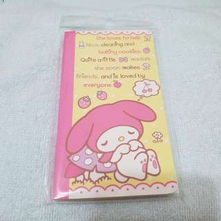 New My Melody Sanrio Notebook