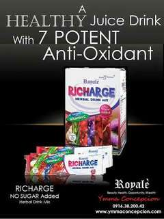 RICHARGE HERBAL DRINK