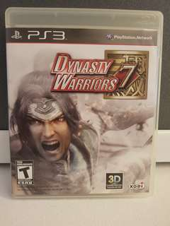 PS3 Game - Dynasty Warriors 7