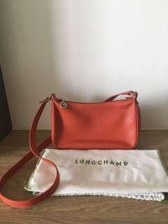 Longchamp Sling Bag Orange