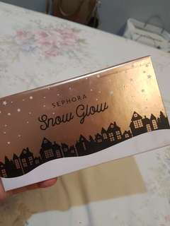 Sephora Snow Glow Face Palette (Contour/Bronzer/Blush/Highlighter)