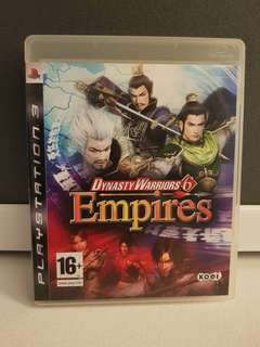 PS3 Game - Dynasty Warriors 6 Empires