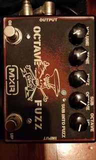 Mxr slash octave and fuzz pedal
