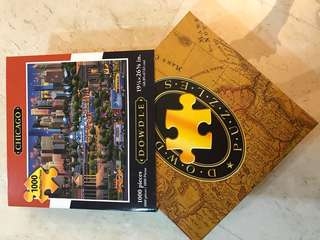 1000 pieces jigsaw of Chicago