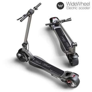 2018 Newest escooter wide wheel installment plan