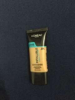 loreal infallible pro-glow shade 209 caramel beige