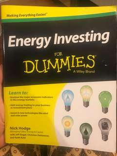 Energy investing