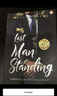 Novel indonesia bekas : last man standing