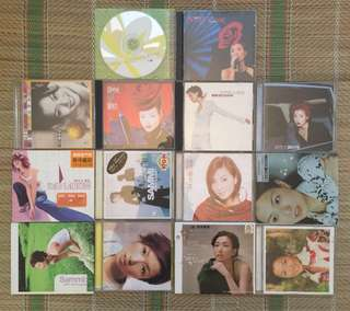 Sammi Cheng cd collection