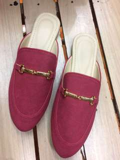 Half Shoes marron