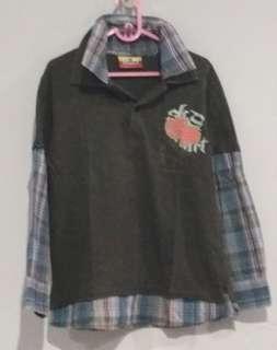 Kemeja Kaus Anak Laki
