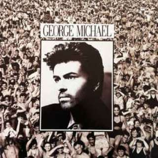 NM Vg+ George Michael listen without prejudice with sticker record vinyl clearance Korea press