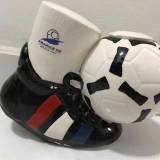 France 98 World Cup Piggy Bank / Mug