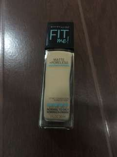 Maybelline matte and poreless in 238 rich tan