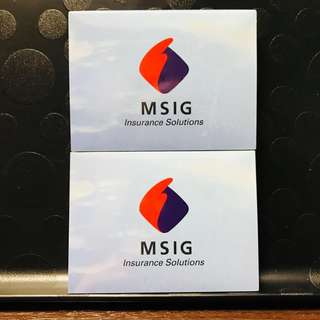 MSIG Post It Note
