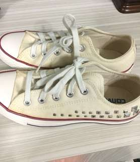 Converse Studded Shoes
