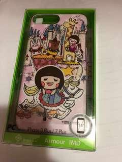 iPhone 7plus/8plus case 手機殼 Chocolate rain