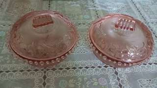 Small bowls with covers