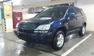 Toyota HARRIER 3.0 AT th.2000 .Sunroof. MINUS Pajak Mati 4th. DIJUAL Seada-adanya