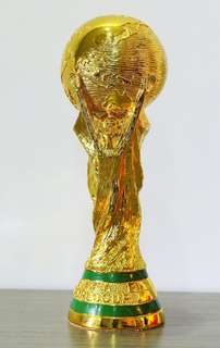 World Cup official replica trophy L size [same size! Genuine] (36cm height)!