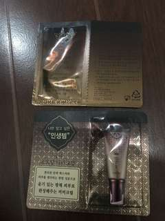 Missha choboyang bb cream samples