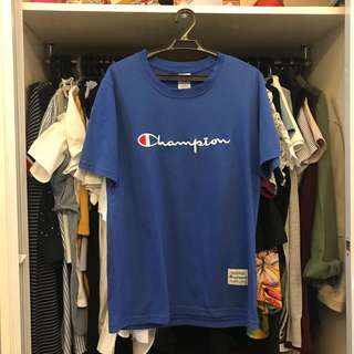 Champion Blue T Shirt