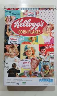 Collectible Kellogg's Corn Flakes metal boxes (3 pack)